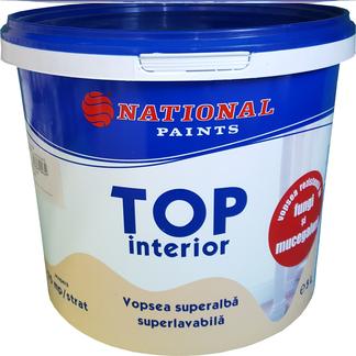 vopsea lavabila TOP interior antimucegai