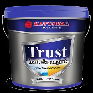 vopsea lavabila interior TRUST ioni de argint