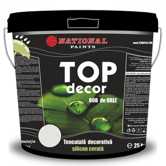 tencuiala decorativa silicon cerata bob de orez TOP DECOR