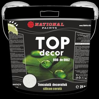 tencuiala decorativa silicon cerata bob de orez TOP DECOR